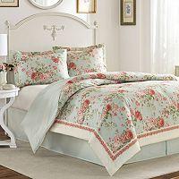 Laura Ashley Lifestyles Vivienne 4-piece Bed Set