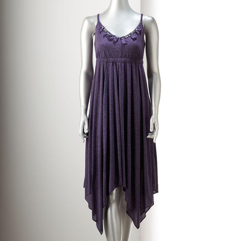 Women's Simply Vera Vera Wang Embellished Empire Dress