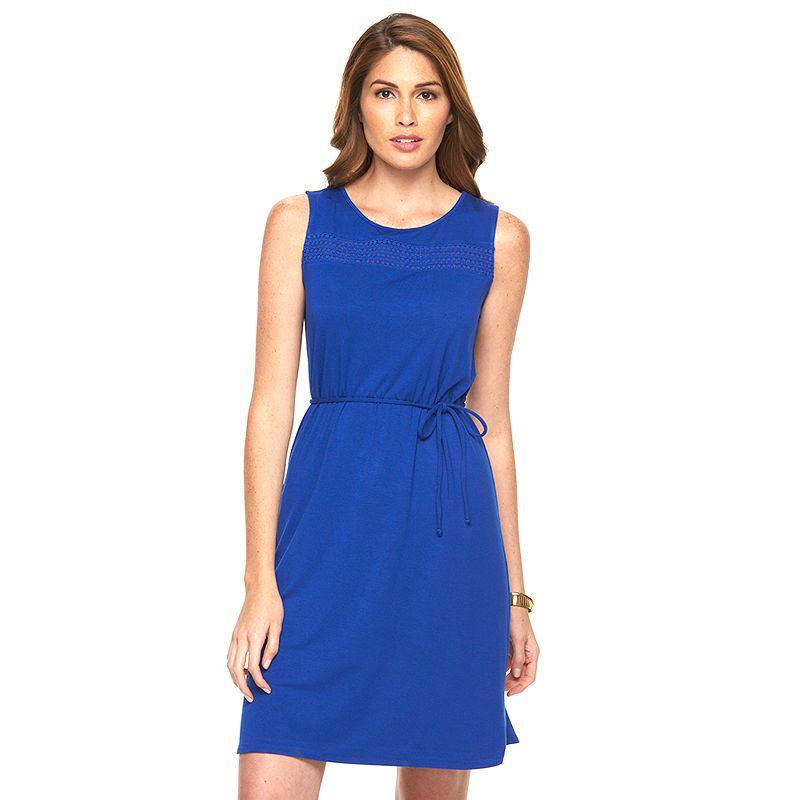 Women's Apt. 9® Crochet-Trim Tank Dress