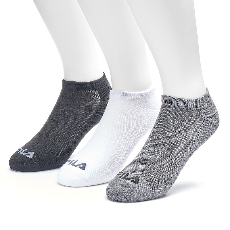 Men's FILA SPORT 3-pack Sport Performance No-Show Socks