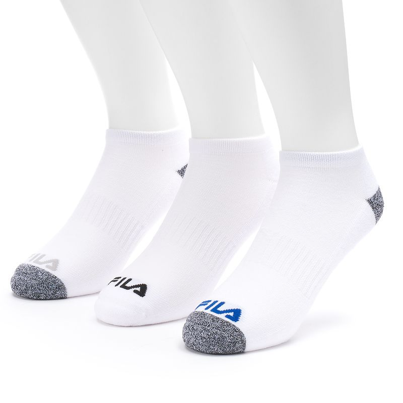 Men's FILA SPORT 3-pack Sport Performance Low-Cut Marled Socks