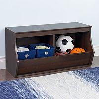 Prepac Fremont 2-Bin Cubby Storage