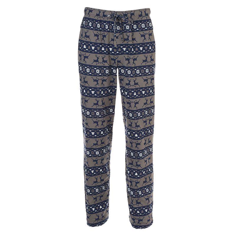 Men's Croft & Barrow® Patterned Knit Lounge Pants