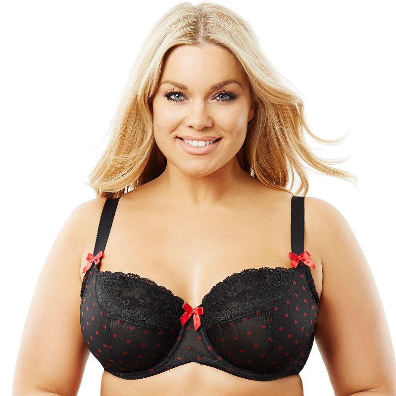 Perfects Australia Bra: Curve It Up Risque Full-Figure Full-Coverage Balconette Bra 14URQ90 - Women's