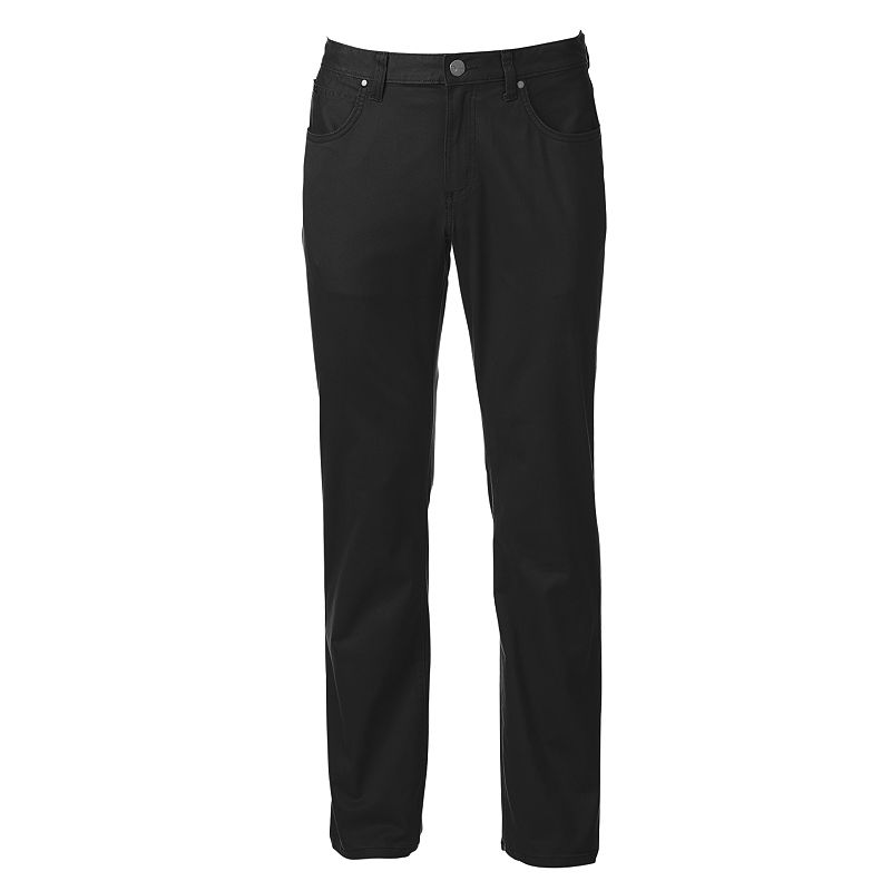 Men's Marc Anthony Slim-Fit Straight-Leg Brushed Twill Pants