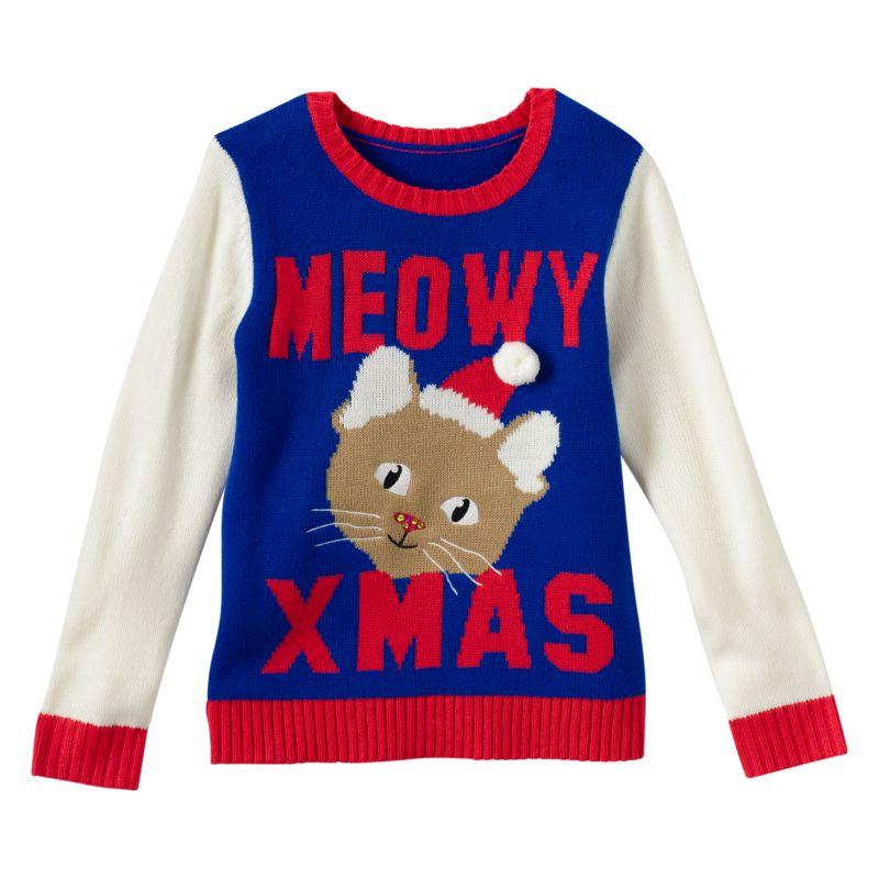 Girl christmas sweaters