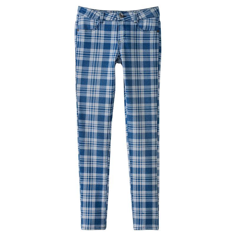 Girls 7-16 & Plus Size SO® Knit Denim Jeggings