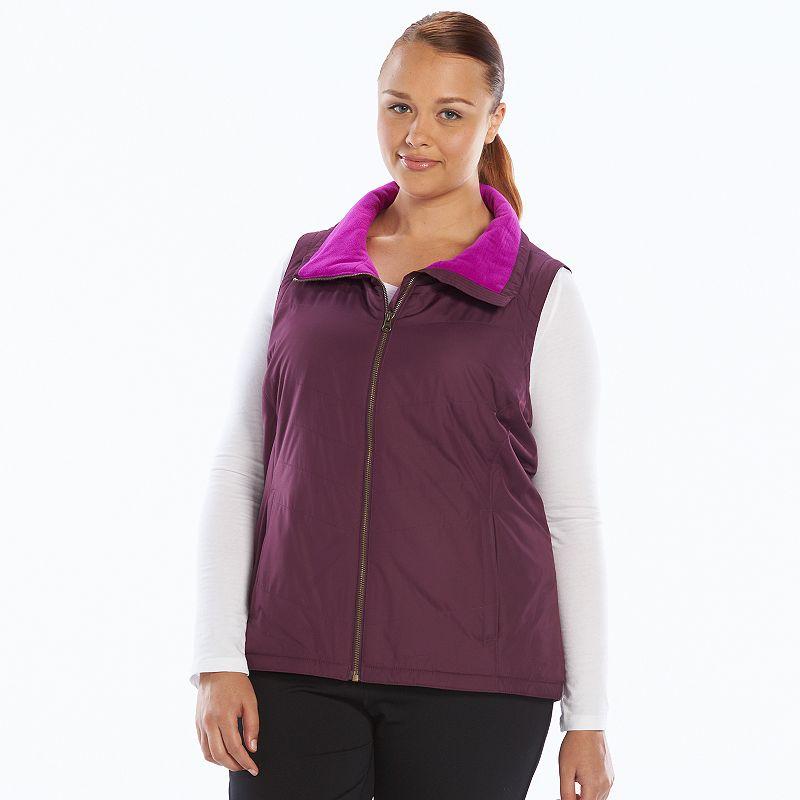 Plus Size Columbia Melting Mogul Fleece-Lined Vest