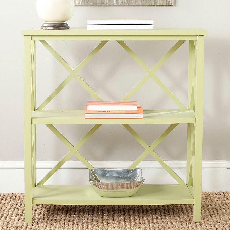 Safavieh Liam Open 2-Shelf Bookshelf