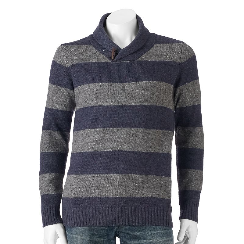Men's Method Pullover Shawl Rugby Sweater