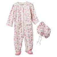 Baby Girl Harry & Violet Umbrella Coverall & Bonnet Set