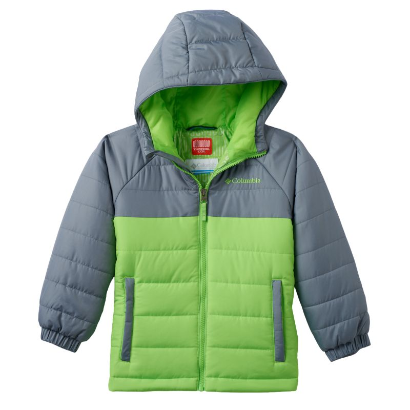 Boys 4-7 Columbia Insulated Thermal Coil Hooded Puffer Jacket, Boy's, Size: 6-7, Green Oth