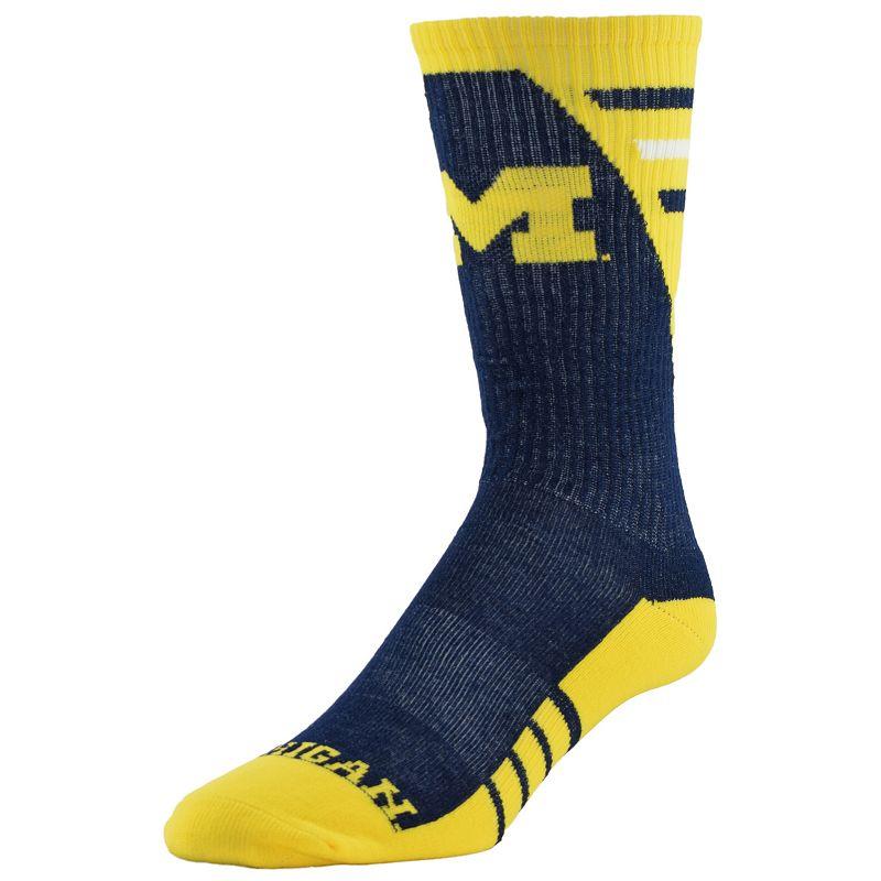 Men's Michigan Wolverines Energize Crew Socks