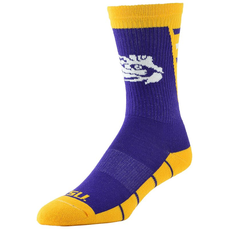 Men's LSU Tigers Energize Crew Socks