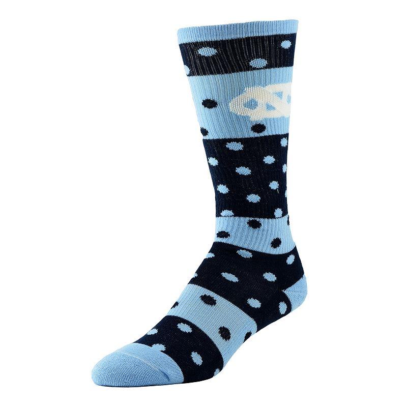 Women's North Carolina Tar Heels Dotted Line Knee-High Socks