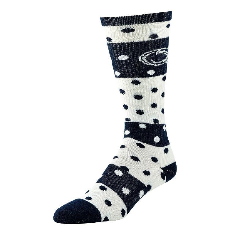 Women's Penn State Nittany Lions Dotted Line Knee-High Socks