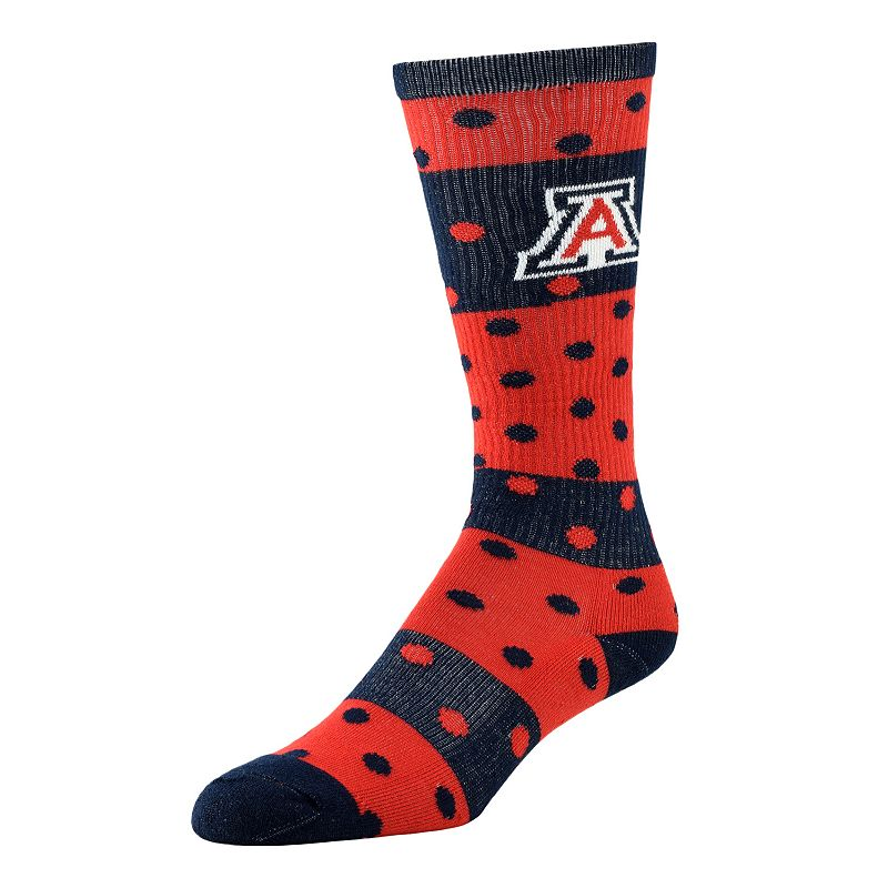 Women's Arizona Wildcats Dotted Line Knee-High Socks