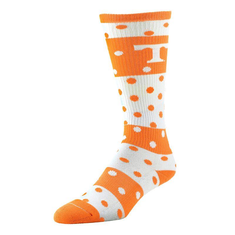 Women's Tennessee Volunteers Dotted Line Knee-High Socks