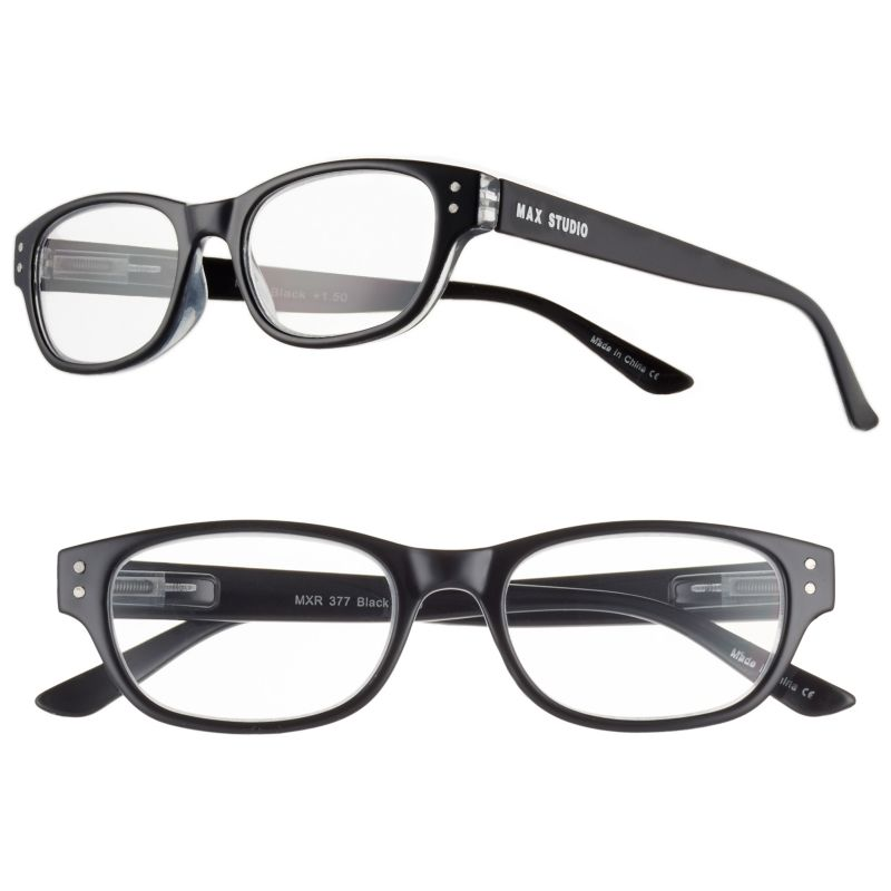 womens black glasses kohl s