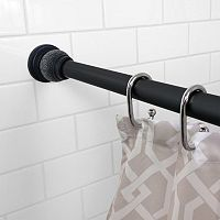 Splash Home Ole Decorative Shower Curtain Rod