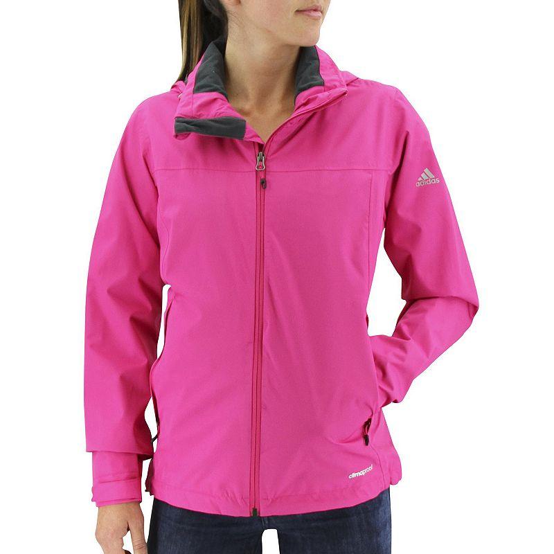 Women's adidas Outdoor Prime Climaproof Hooded Rain Jacket