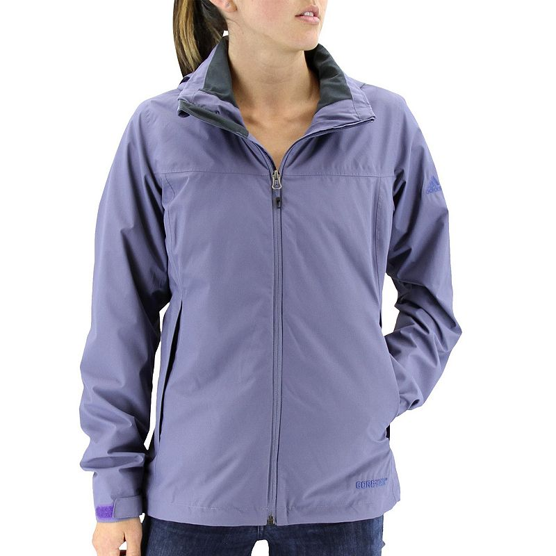 Women's adidas Outdoor Prime Gore-Tex Hooded Rain Jacket