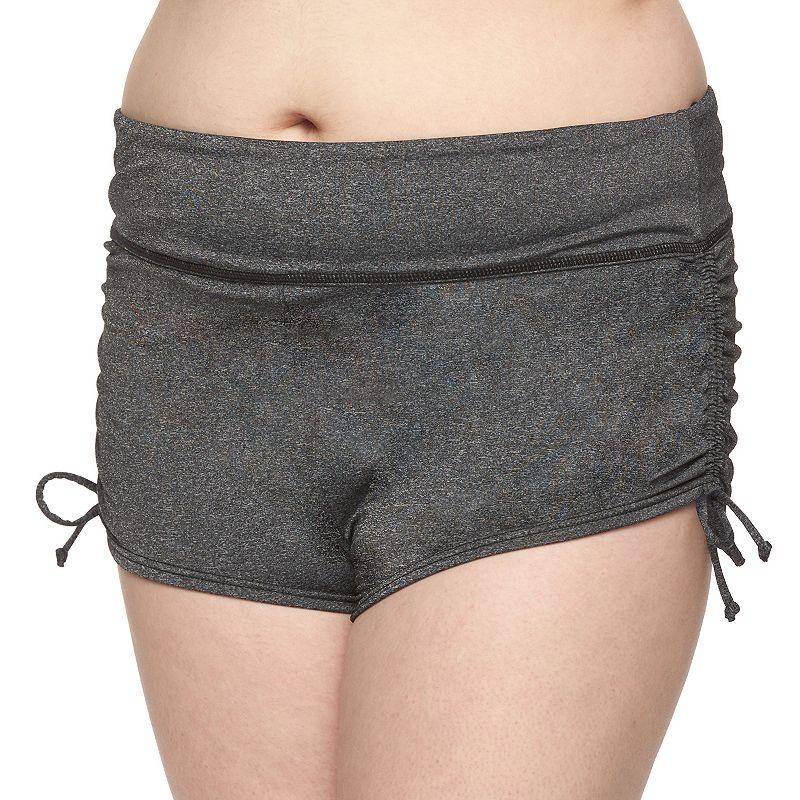 Plus Size Tek Gear® Solid Boyshort Bottoms