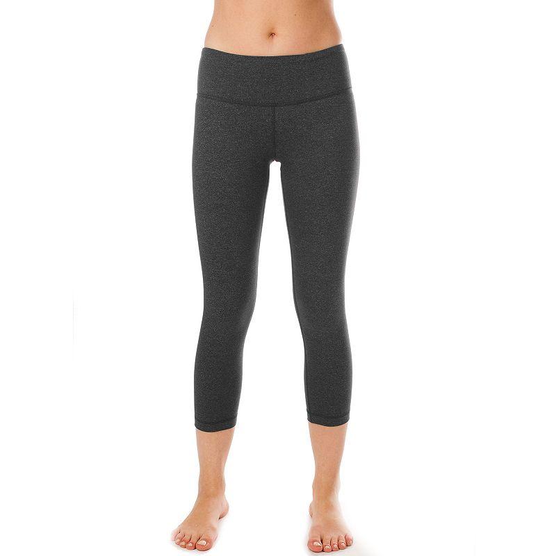 Women's 90 Degree by Reflex Power Flex Capri Yoga Leggings