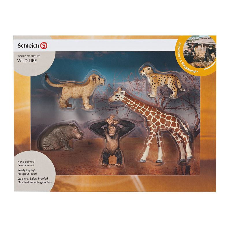 Schleich World of Nature Wildlife Babies Set