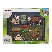 Schleich World of Nature Farm Life Children's Zoo Set