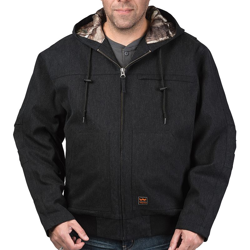 Men's Walls Hooded Kevlar Blended Jacket