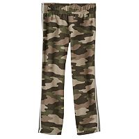 Toddler Boy Jumping Beans® Double Stripe Side Camouflage Sweatpants