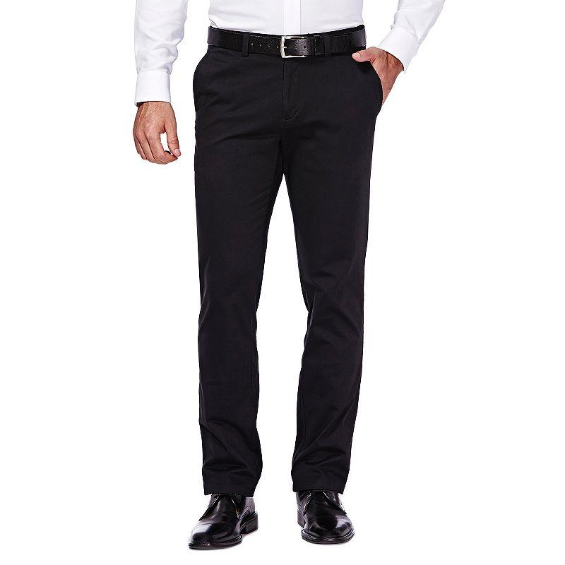 Men's Haggar Slim-Fit Stretch City Chino Flex-Waist Pants