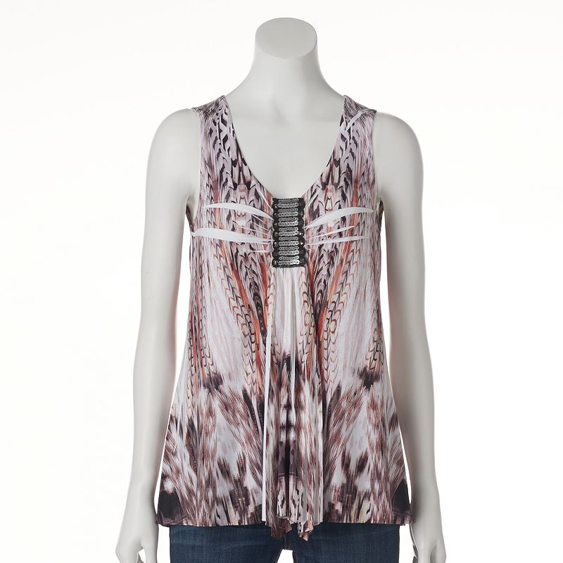 Women's Apt. 9® Sequin Sublimation Tank