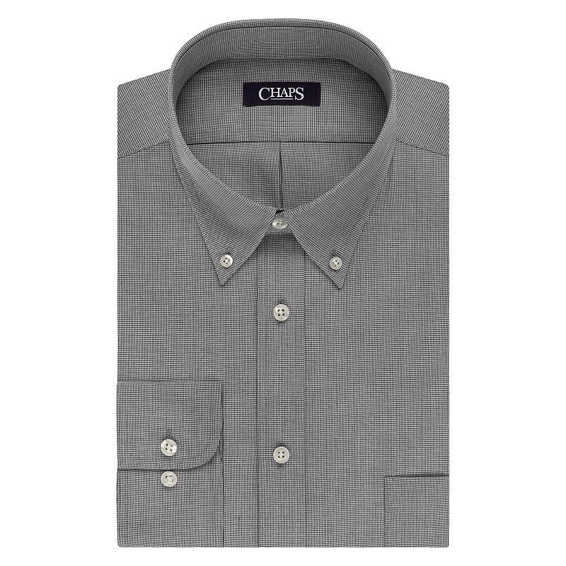 Big & Tall Chaps Classic-Fit Wrinkle-Free Dress Shirt