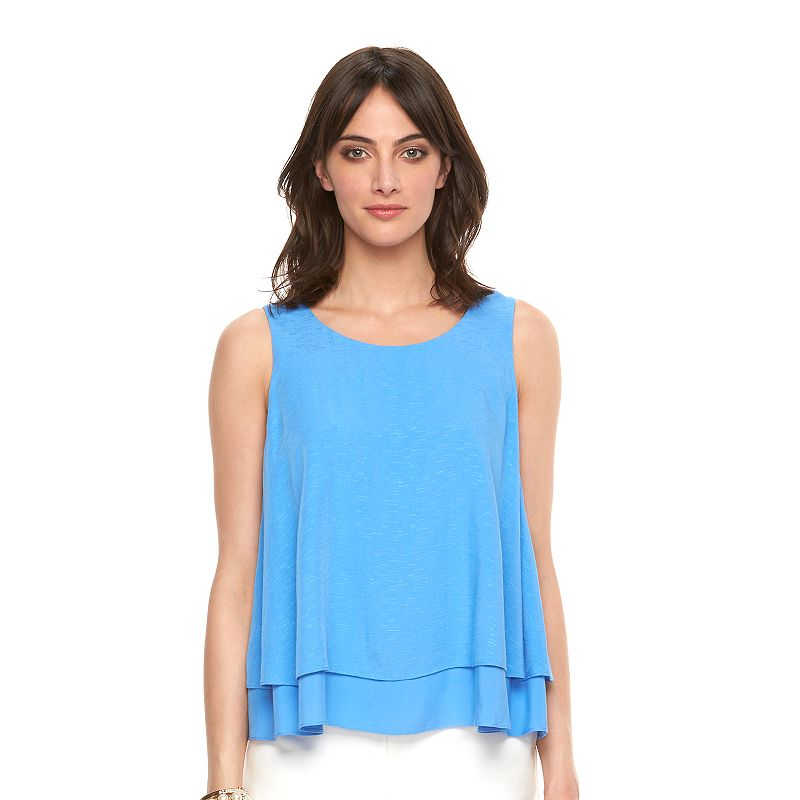 Women's ELLE™ Textured Popover Top