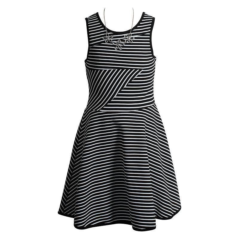 Girls 7-16 Emily West Striped Dress