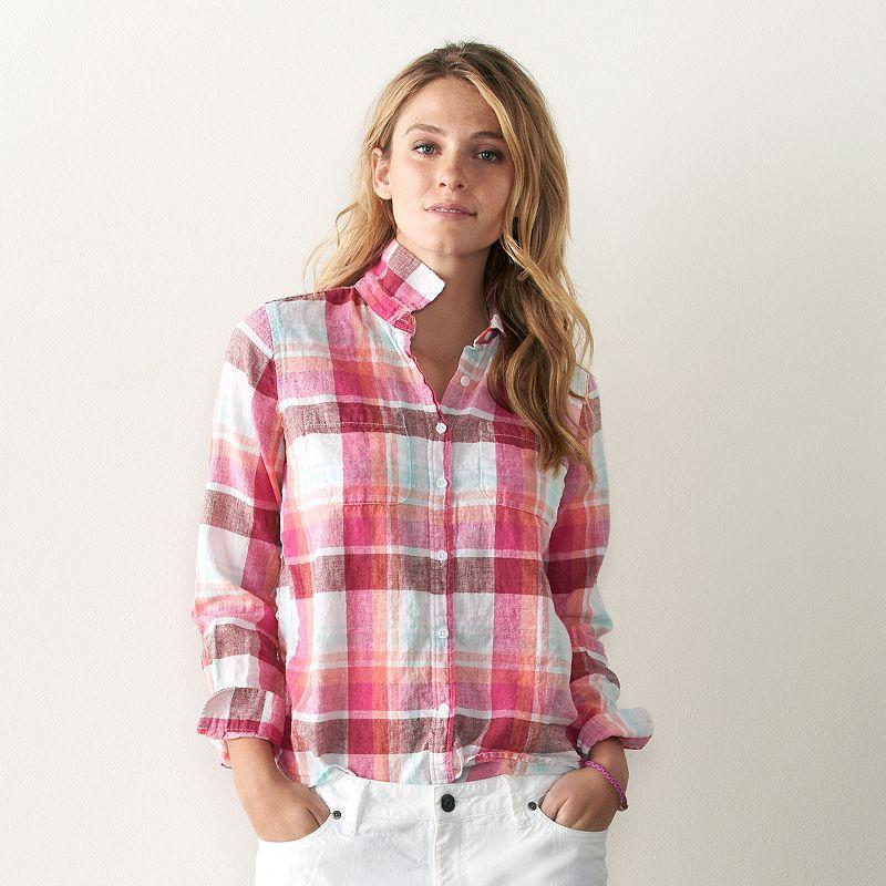Women's SONOMA Goods for Life™ Linen Shirt