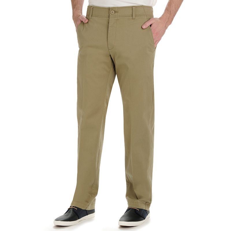 Big & Tall Lee Performance Series Extreme Comfort Khaki Straight-Fit Pants