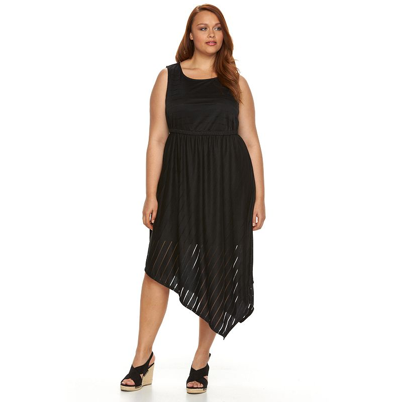 Plus Size Apt. 9® Asymmetrical Hem Dress
