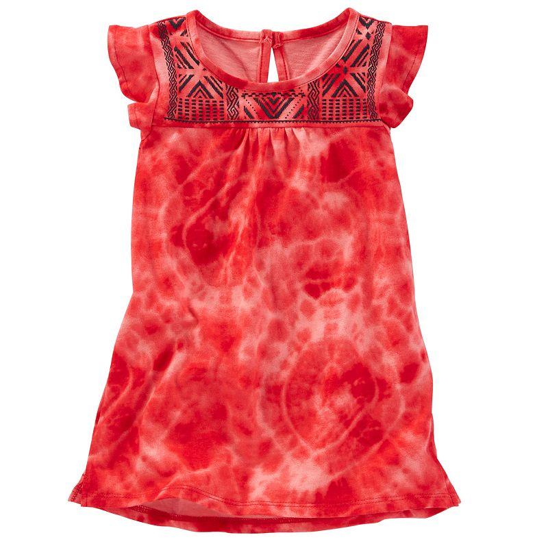 Toddler Girl OshKosh B'gosh® Puff Print Flutter Sleeve Tunic