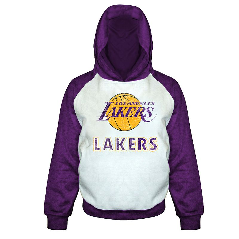 Boys 8-20 Majestic Los Angeles Lakers Pullover Hoodie