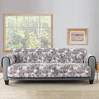 Sure Fit Faux Fur Reversible Loveseat Furniture Cover