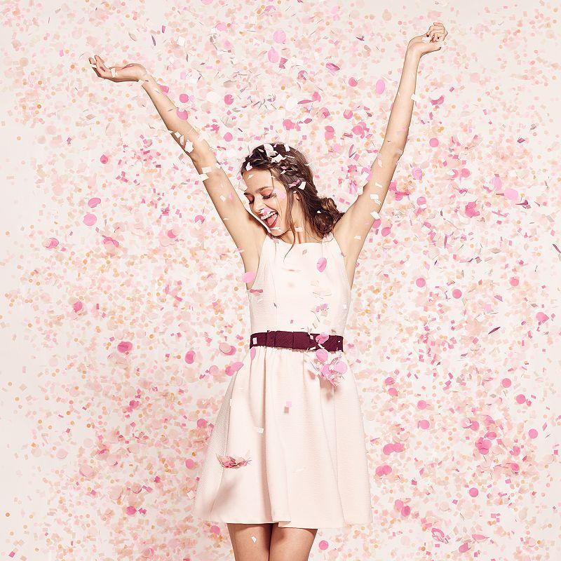 Women's LC Lauren Conrad Bow Fit & Flare Dress