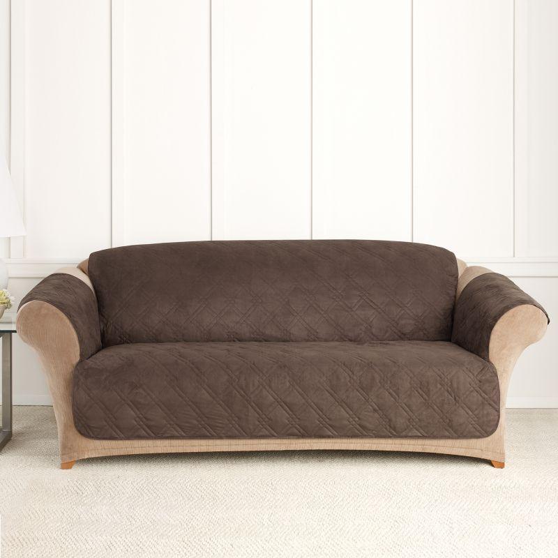 Sure Fit Furniture Friend Microfiber Non Skid Sofa Pet