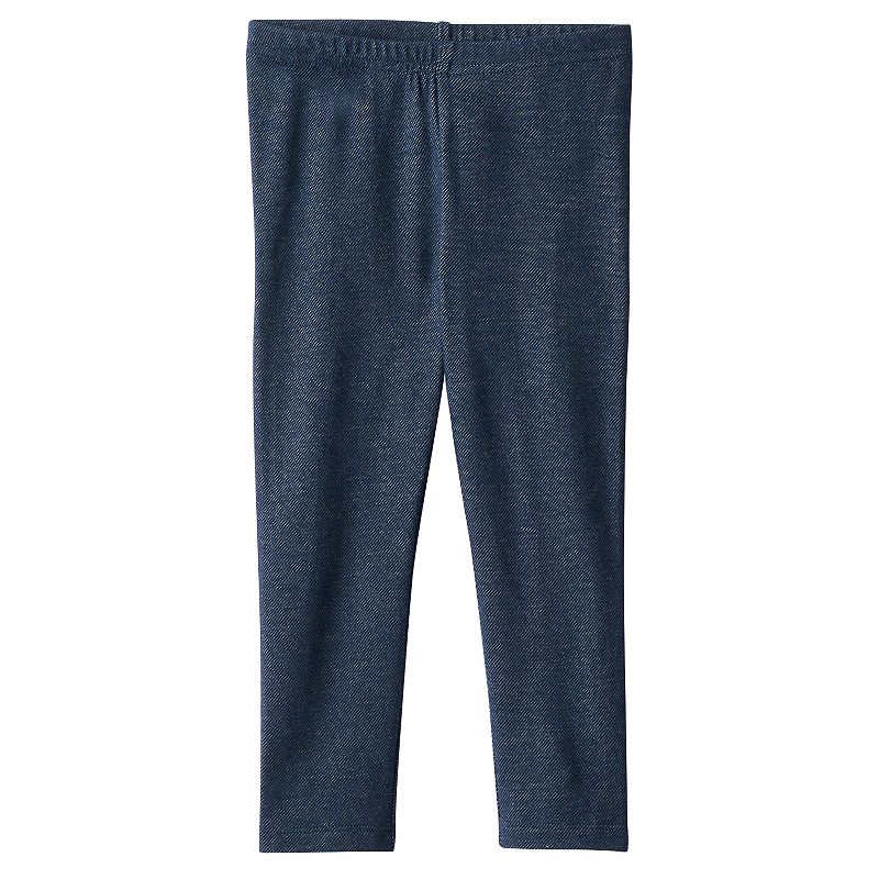 Toddler Girl Jumping Beans® Faux-Denim Long Leggings