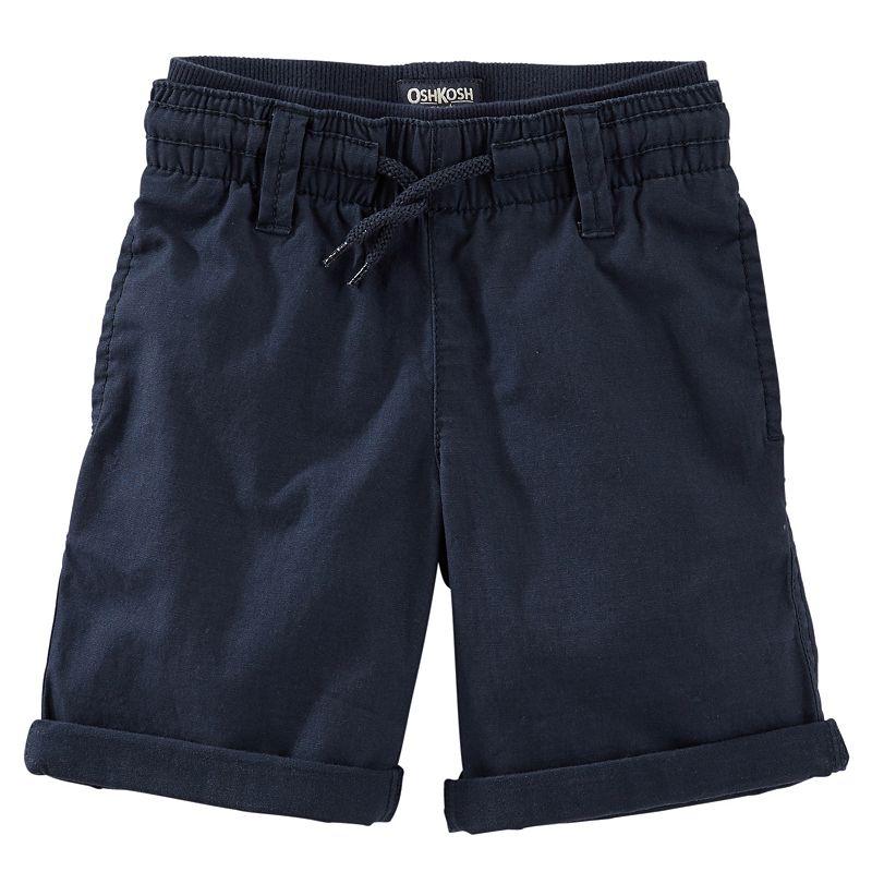 Boys 4-7x OshKosh B'gosh® Pull-On Lightweight Canvas Shorts