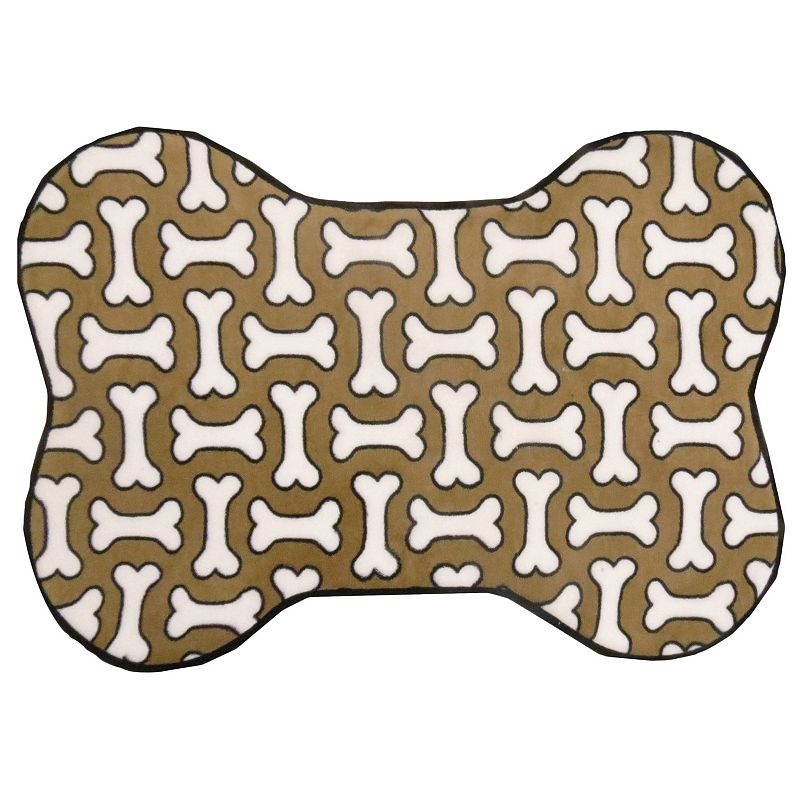 PB Paws Dog Treats Memory Foam Bath Mat