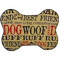 PB Paws Good Dog Memory Foam Bath Mat