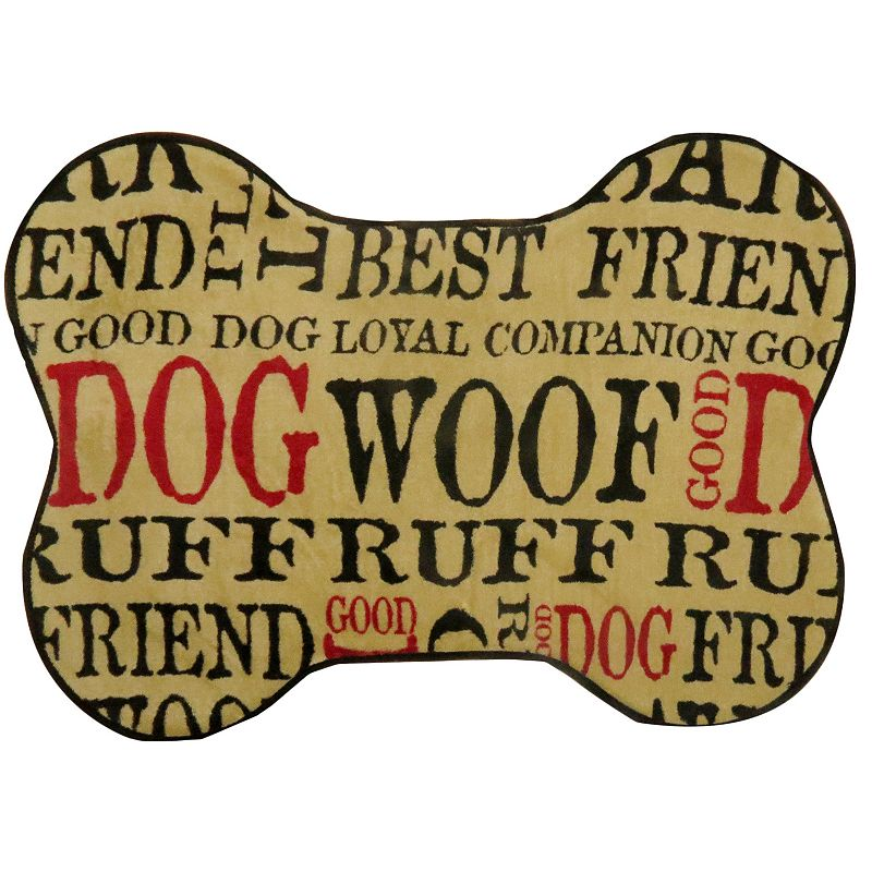 PB Paws Good Dog Memory Foam Bath Mat